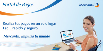 Banner Portal de Pagos Mercantil